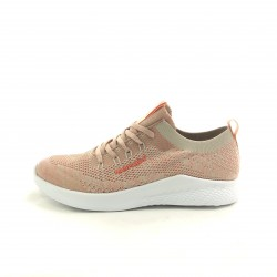 ZAPA ACORDONADA BASE EVA BEIGE-SELLY