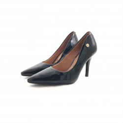 Stiletto Clasico Taco Medio Negro/brillo-1184-101